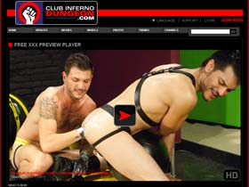 Welcome to Club Inferno Dungeon - extreme gay fisting, rosebuds, gay fetish videos!
