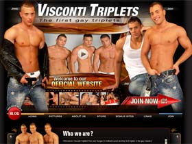 Welcome to The Gay Triplets - viscontigay triplets!