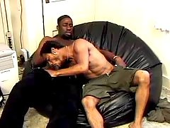 Harsh black gays doing crazy anal