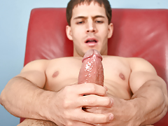 Nico keeps his enormous dick well oiled & super unyielding